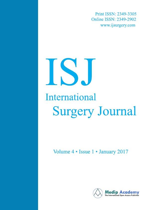 International Surgery Journal